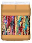 Sunshine Coast Colorful Abstract  Duvet Cover