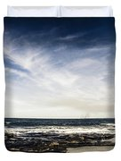 Sunshine Coast Landscape Duvet Cover