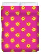Sunshine Daisy Repeat Duvet Cover