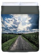 Sunshine On A Cloudy Day Duvet Cover