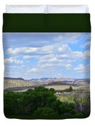 Sunshine On The Mountains - Verde Canyon Duvet Cover