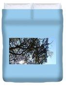 Sunshine Passes Pine  Duvet Cover