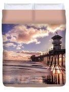 Sunshine Pier Duvet Cover