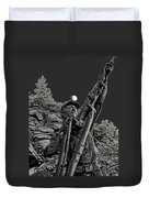 Sunshine Silver Mine Memorial - Kellogg Idaho Duvet Cover