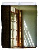 Sunshine Streaming Through Window Duvet Cover
