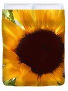 Sunshine Sunflower In The Garden Duvet Cover