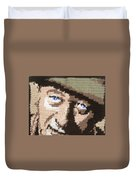 Suntan John Wayne Duvet Cover