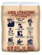 Super Attraction Poster Collection 5 Duvet Cover