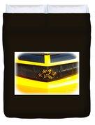 Super Bee Camaro Grill Duvet Cover