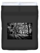 Super Contrasted Trees Duvet Cover
