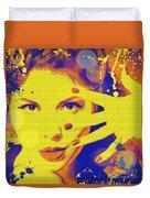 Super-girl. Duvet Cover