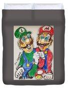 Super Mario Brothers Duvet Cover