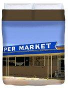 Super Market Duvet Cover