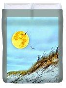 Super Moon 09-27-15 Duvet Cover