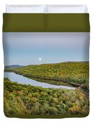 Super Moon Rise Sept. 27, 2015 Duvet Cover