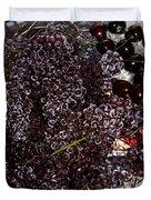 Super Small Grapes Duvet Cover