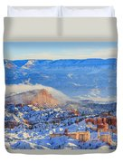 Superb View Of Sunset Point, Bryce Canyon National Park Duvet Cover
