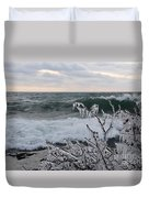 Superior January Waves Duvet Cover