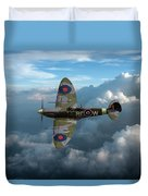 Supermarine Spitfire Vb Duvet Cover