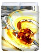 Supernova Abstract Duvet Cover