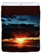 Superstition Sunrise Duvet Cover