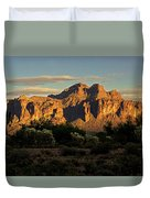 Superstitions At Sunset  Duvet Cover