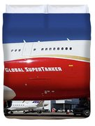 Supertanker At Colorado Springs Duvet Cover