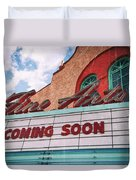 Support The Arts Duvet Cover