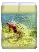Surf Art Duvet Cover