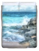 Surf Break Duvet Cover