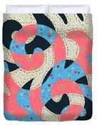 Surf Dance Duvet Cover
