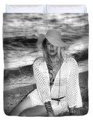 Surf Side Intrigue Duvet Cover