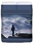 Surf Watcher Duvet Cover