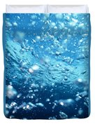 Surface Bubbles Duvet Cover