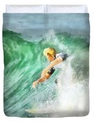 Surfer 46 Duvet Cover