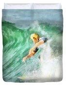 Surfer 46 Duvet Cover