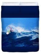 Surfer Charles Martin Nbr. 3 Duvet Cover