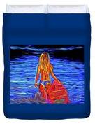 Surfer Girl 13218 Duvet Cover