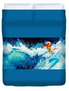 Surfer Girl Duvet Cover