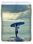 Surfer Girl Duvet Cover