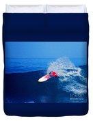 Surfer Glenn Hall - Nbr 1 Duvet Cover