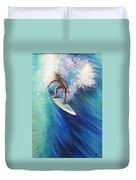 Surfer II Duvet Cover