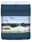 Surfers Duvet Cover