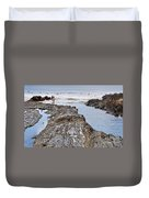 Surfers Waterways Duvet Cover