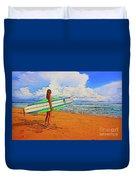 Surfing 19518 Duvet Cover