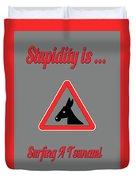 Surfing Bigstock  Donkey 171252860 Duvet Cover