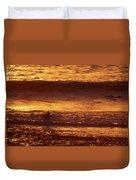 Surfing California Duvet Cover