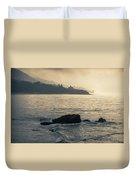 Leo Carrillo Beach Duvet Cover