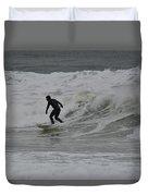Surfing, N. Hampton Nh Duvet Cover