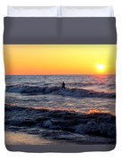 Surf's Up Grand Bend Duvet Cover